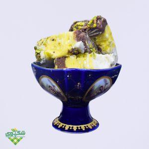 بستنی سنتی سه مغز
