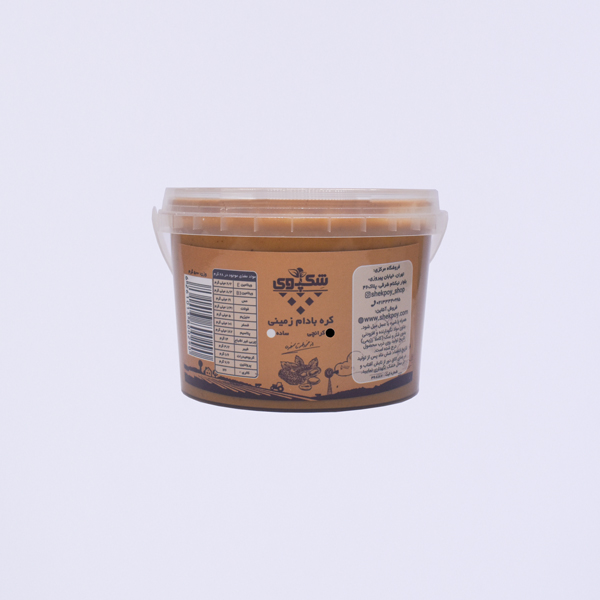 کره بادام زمینی کرانچی